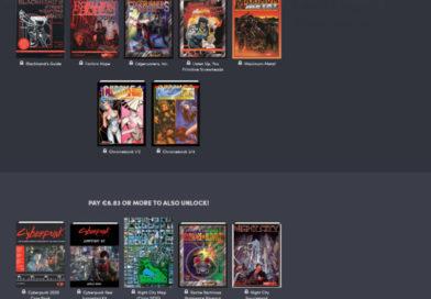 Cyberpunk2020 und Red Jumpstart Kit im Humbel Bundle